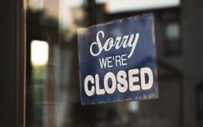 Brasserie gesloten vanaf 15/10